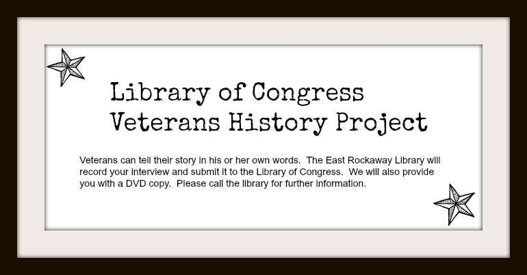 veterans history project Veteran's history project back in january i had the good fortune to sit in on a  veteran's history project interview conducted by jim mccannell the subject of  the.